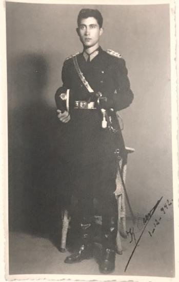 SİYAH BEYAZ 1930 LU YILLAR STUDYO CEKİM ASKER FOTOGRAF SİYAH BEYAZ
